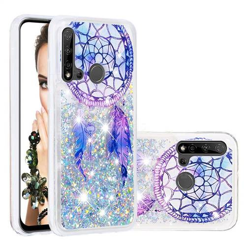Fantasy Wind Chimes Dynamic Liquid Glitter Quicksand Soft TPU Case for Huawei P20 Lite(2019)