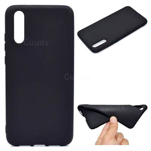 Black Candy Soft TPU Back Cover for Huawei P20 Pro - Black