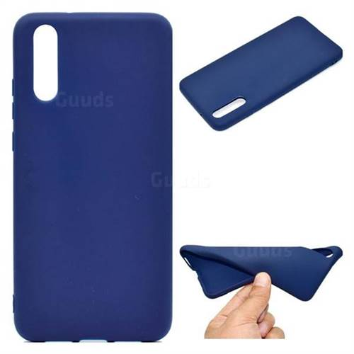Blue Candy Soft TPU Back Cover for Huawei P20 Pro