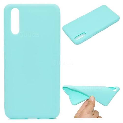 Green Candy Soft TPU Back Cover for Huawei P20 Pro