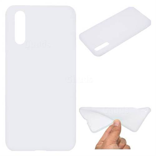 White Candy Soft TPU Back Cover for Huawei P20 Pro