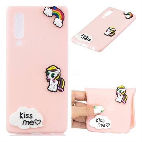 Kiss me Pony Soft 3D Silicone Case for Huawei P30
