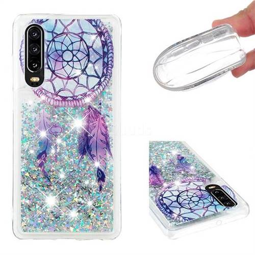 Fantasy Wind Chimes Dynamic Liquid Glitter Quicksand Soft TPU Case for Huawei P30