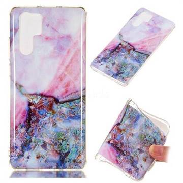 Purple Amber Soft TPU Marble Pattern Phone Case for Huawei P30 Pro