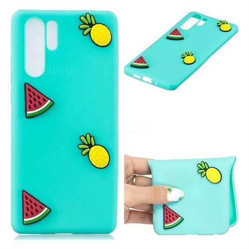 Watermelon Pineapple Soft 3D Silicone Case for Huawei P30 Pro