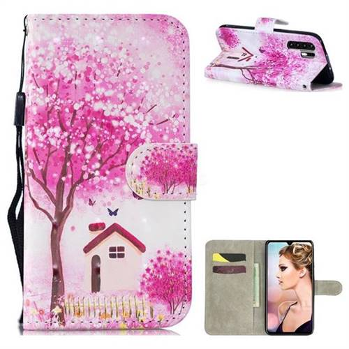 Tree House 3D Painted Leather Wallet Phone Case for Huawei P30 Pro