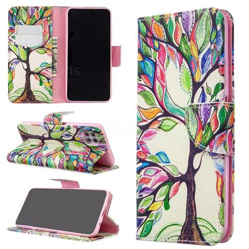 The Tree of Life Leather Wallet Case for Huawei P40 Lite