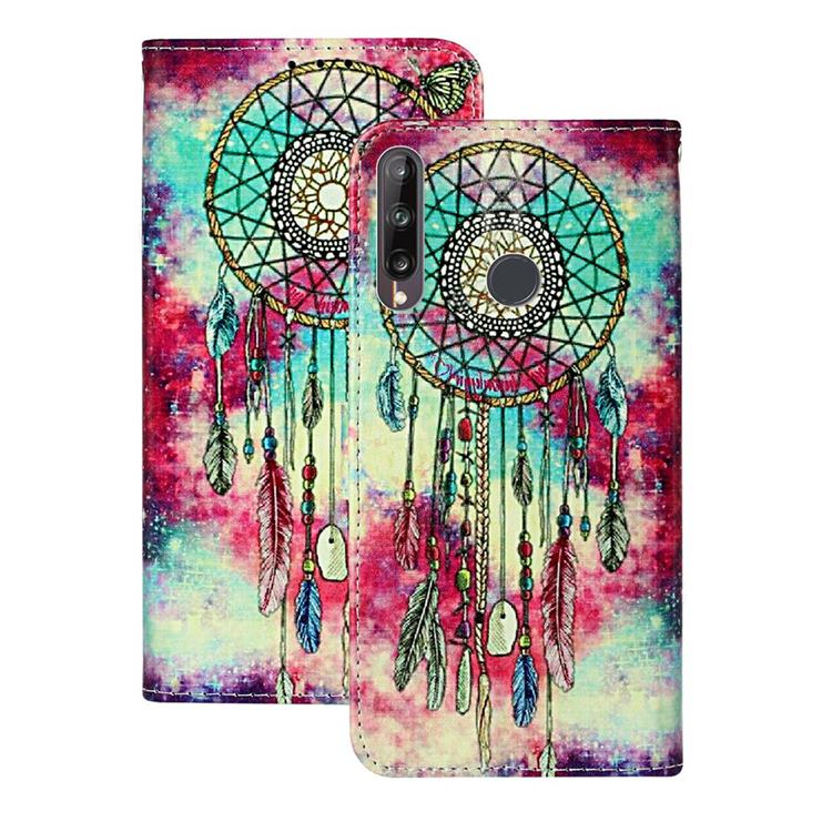 Butterfly Chimes PU Leather Wallet Case for Huawei P40 Lite E