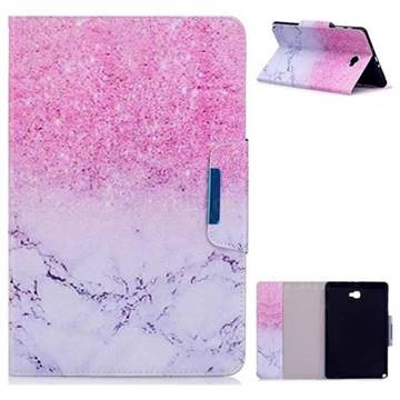 Sand Marble Folio Flip Stand Leather Wallet Case for Samsung Galaxy Tab A 10.1 with S-Pen P580 P585