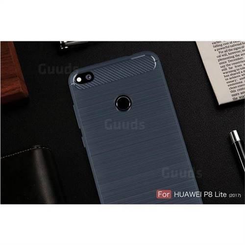 cover huawei p8 lite 2017 silicone blu
