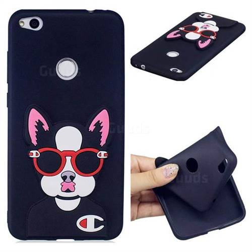 Glasses Gog Soft 3D Silicone Case for Huawei P8 Lite 2017 / P9 Honor 8 Nova Lite