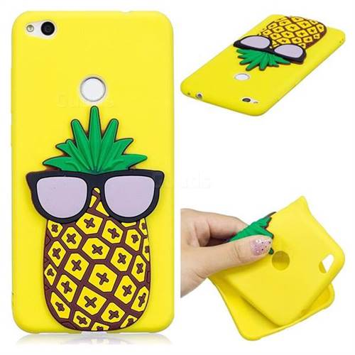 Pineapple Soft 3D Silicone Case for Huawei P8 Lite 2017 / P9 Honor 8 Nova Lite