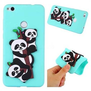 Panda Bamboo Soft 3D Silicone Case for Huawei P8 Lite 2017 / P9 ...