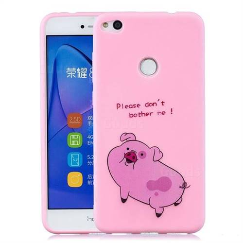 Pink Cute Pig Soft Kiss Candy Hand Strap Silicone Case for Huawei ...