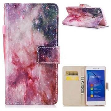Cosmic Stars PU Leather Wallet Case for Huawei P8 Lite 2017 / P9 Honor 8 Nova Lite