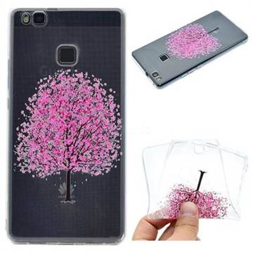 Petals Tree Super Clear Soft TPU Back Cover for Huawei P9 Lite G9 Lite
