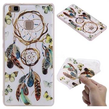 Color Wind Chimes 3D Relief Matte Soft TPU Back Cover for Huawei P9 Lite G9 Lite