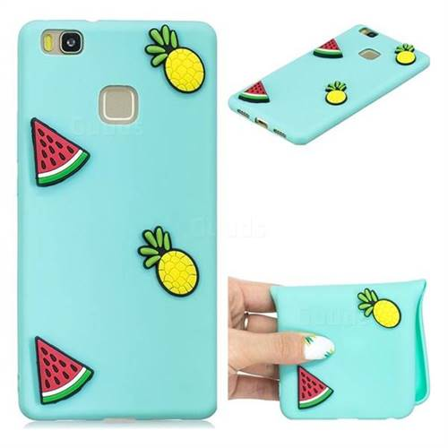 Watermelon Pineapple Soft 3D Silicone Case for Huawei P9 Lite G9 Lite