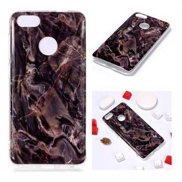 Brown Soft TPU Marble Pattern Phone Case for Huawei P9 Lite Mini (Y6 Pro 2017)