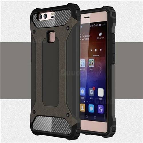 rivenditore di vendita 8e734 9a782 King Kong Armor Premium Shockproof Dual Layer Rugged Hard Cover for Huawei  P9 Plus P9plus - Bronze