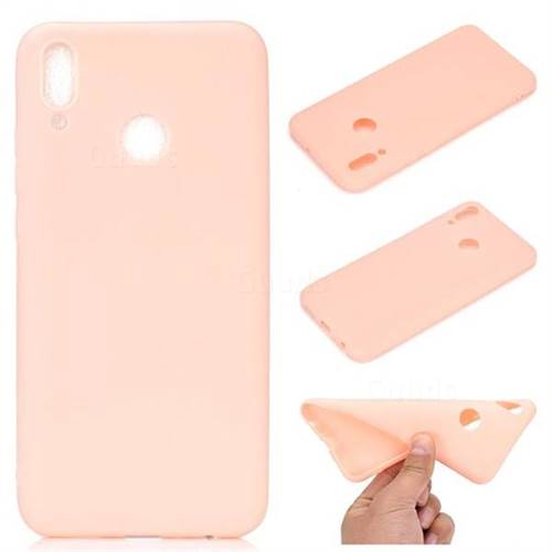 best sneakers d7dc9 19edc Candy Soft TPU Back Cover for Huawei P Smart (2019) - Pink