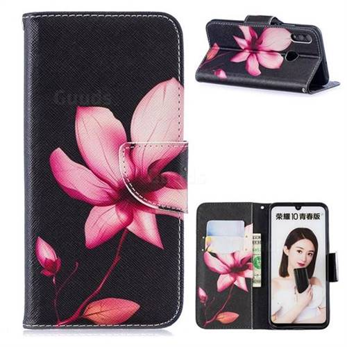 Lotus Flower Leather Wallet Case for Huawei P Smart (2019)