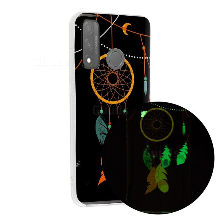 Dream Catcher Noctilucent Soft TPU Back Cover for Huawei P Smart (2020)