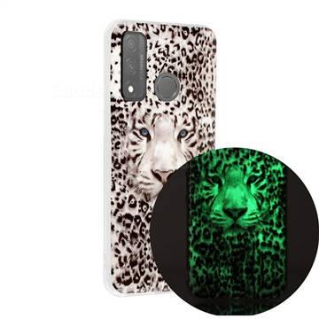 Leopard Tiger Noctilucent Soft TPU Back Cover for Huawei P Smart (2020)