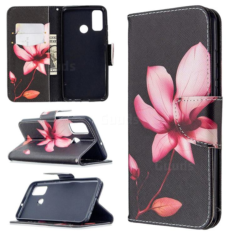 Lotus Flower Leather Wallet Case for Huawei P Smart (2020)
