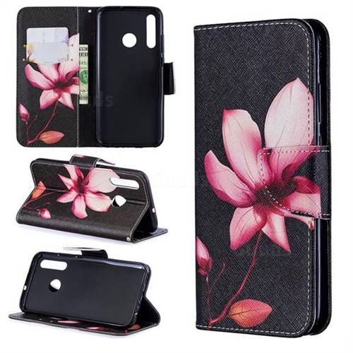 Lotus Flower Leather Wallet Case for Huawei P Smart+ (2019)