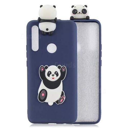 Giant Panda Soft 3D Climbing Doll Soft Case for Huawei P Smart Z (2019)