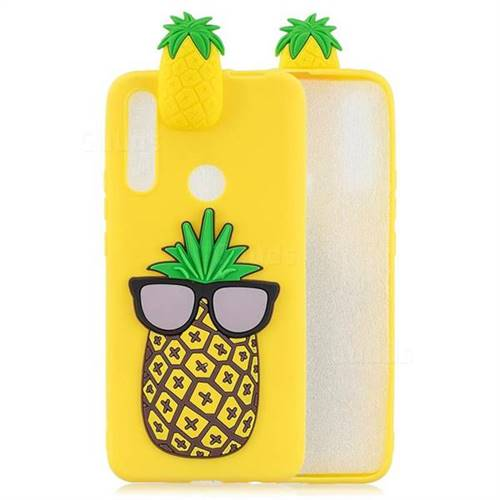 Big Pineapple Soft 3D Climbing Doll Soft Case for Huawei P Smart Z (2019)