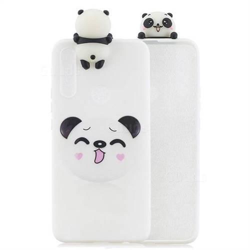 Smiley Panda Soft 3D Climbing Doll Soft Case for Huawei P Smart Z (2019)