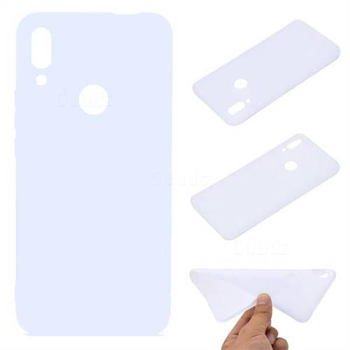 Candy Soft TPU Back Cover for Huawei P Smart Z (2019) - White