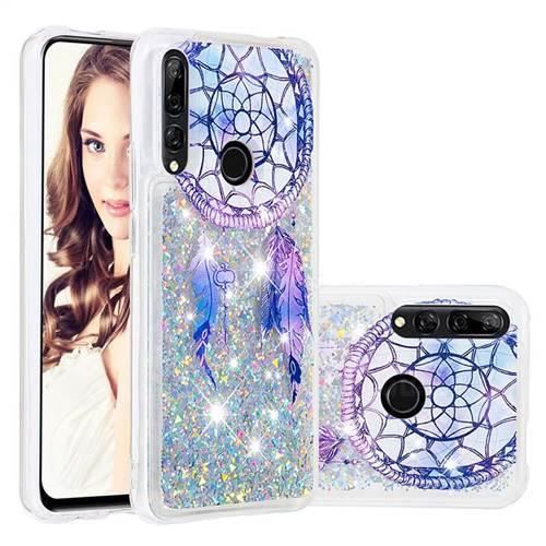 Fantasy Wind Chimes Dynamic Liquid Glitter Quicksand Soft TPU Case for Huawei P Smart Z (2019)