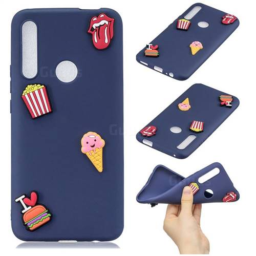 I Love Hamburger Soft 3D Silicone Case for Huawei P Smart Z (2019)