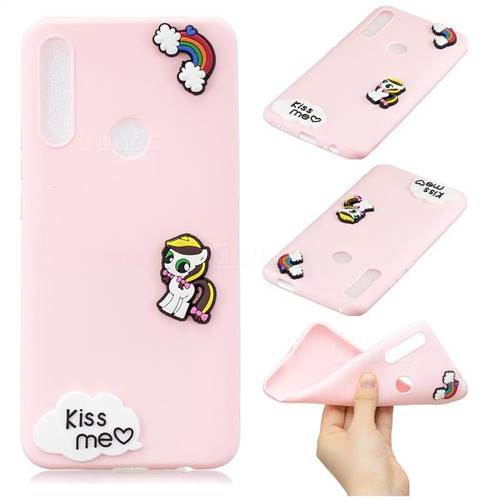 Kiss me Pony Soft 3D Silicone Case for Huawei P Smart Z (2019)