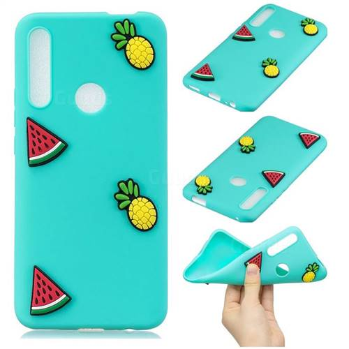 Watermelon Pineapple Soft 3D Silicone Case for Huawei P Smart Z (2019)