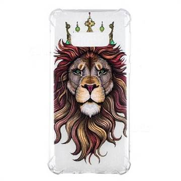 Lion King Anti-fall Clear Varnish Soft TPU Back Cover for Samsung Galaxy S10e(5.8 inch)