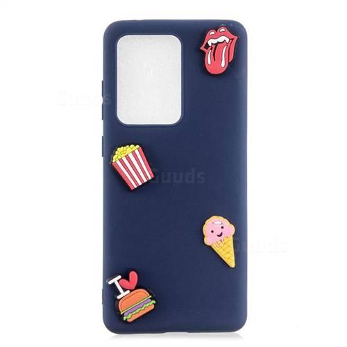 I Love Hamburger Soft 3D Silicone Case for Samsung Galaxy S20 Ultra / S11 Plus
