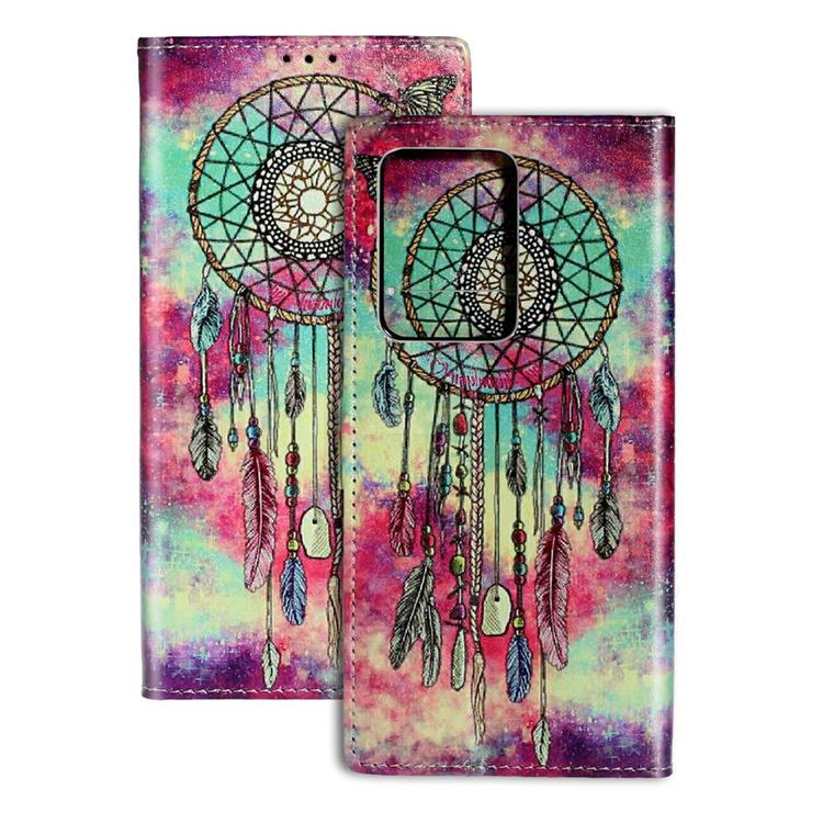 Butterfly Chimes PU Leather Wallet Case for Samsung Galaxy S20 Ultra / S11 Plus