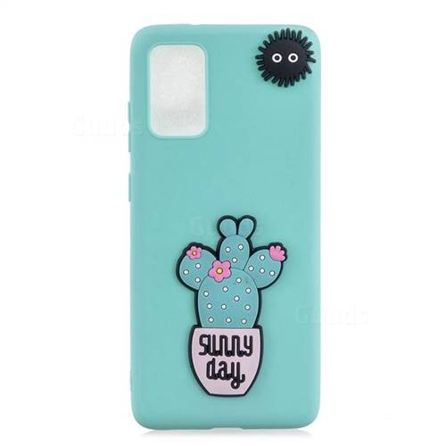 Cactus Flower Soft 3D Silicone Case for Samsung Galaxy S20 / S11e