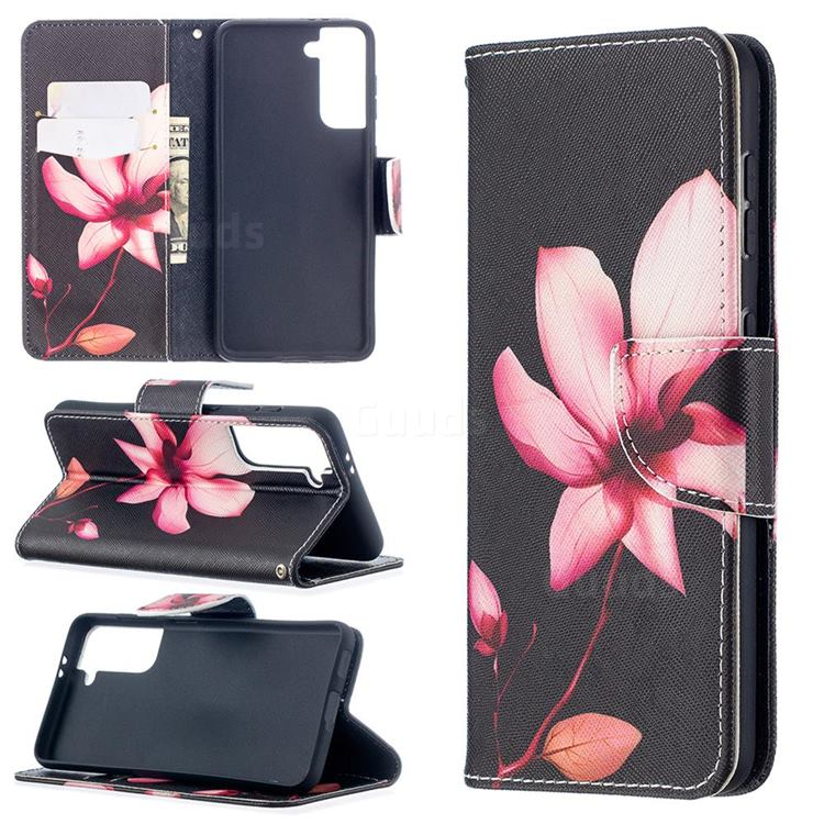 Lotus Flower Leather Wallet Case for Samsung Galaxy S21 / Galaxy S30