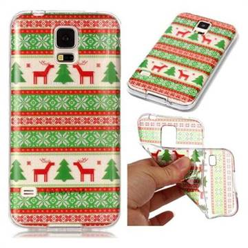 Tribe Elk Super Clear Soft TPU Back Cover for Samsung Galaxy S5 G900