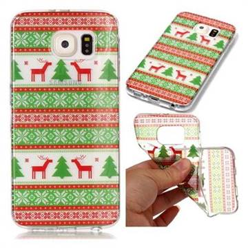 Tribe Elk Super Clear Soft TPU Back Cover for Samsung Galaxy S6 G920