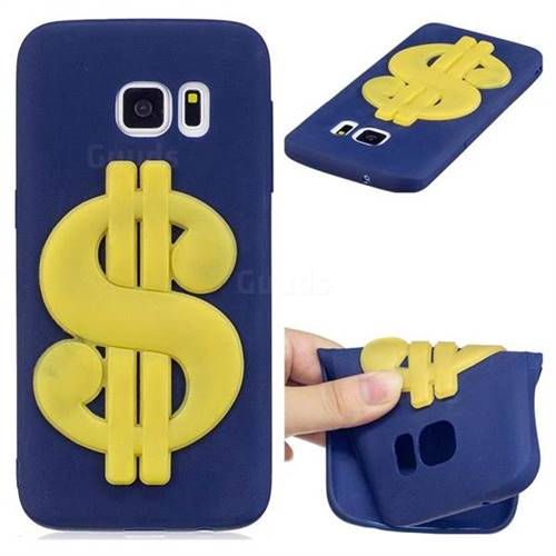 US Dollars Soft 3D Silicone Case for Samsung Galaxy S6 G920
