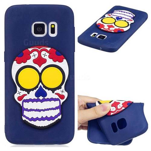 Ghosts Soft 3D Silicone Case for Samsung Galaxy S6 G920