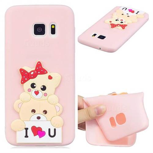 Love Bear Soft 3D Silicone Case for Samsung Galaxy S6 G920