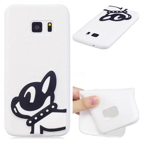 Cute Dog Soft 3D Silicone Case for Samsung Galaxy S6 G920