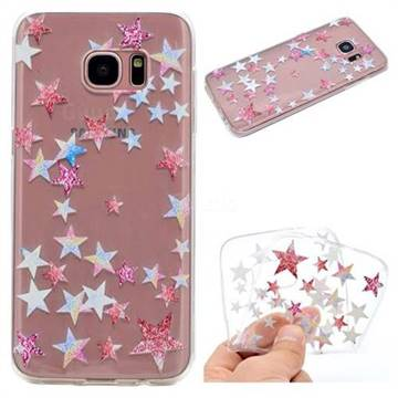 Pentagram Super Clear Soft TPU Back Cover for Samsung Galaxy S7 G930
